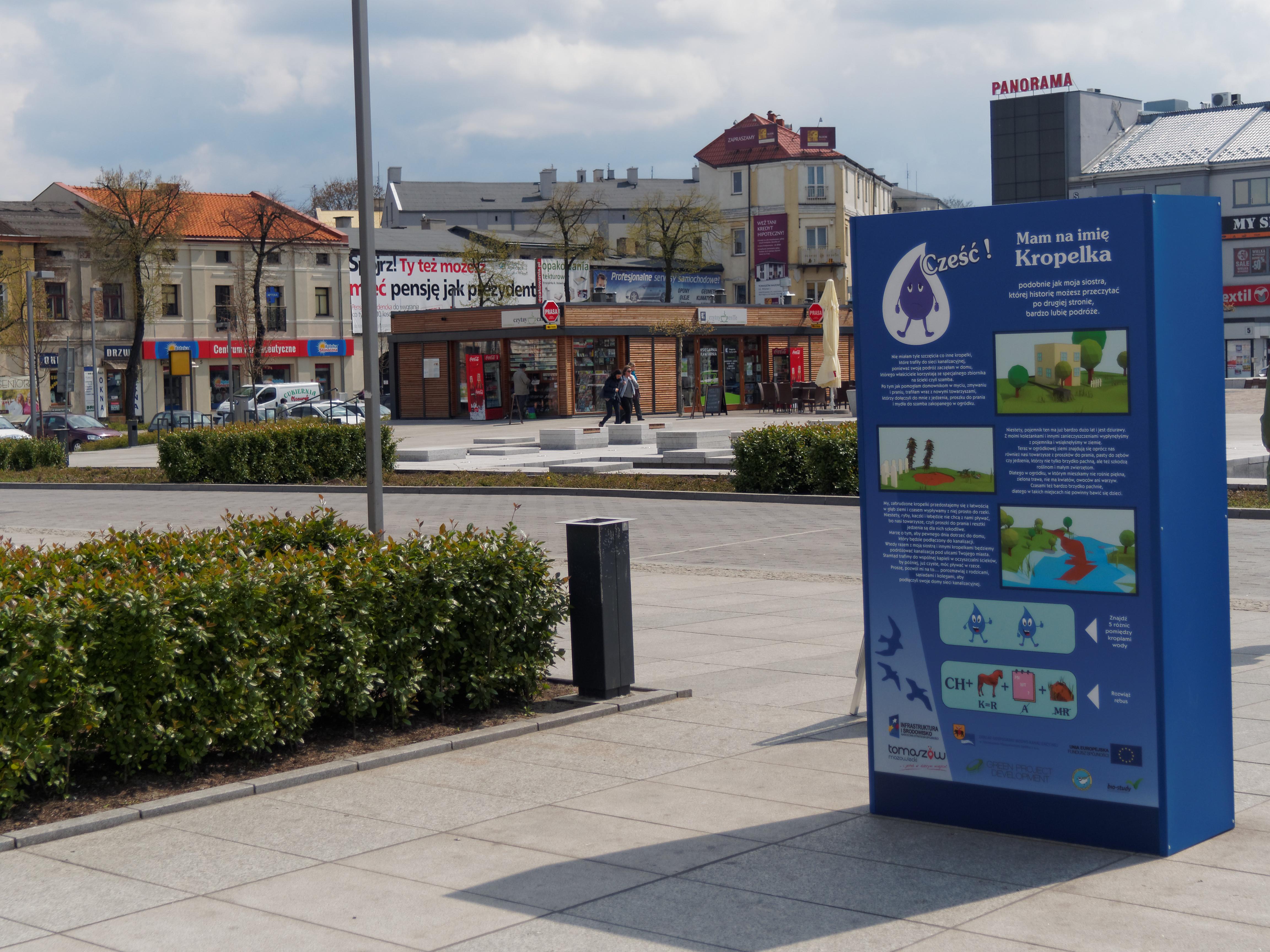 Wystawa Kubiki Edukacja Ekologiczna Tomaszów Mazowiecki
